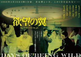 ウォン・カーウァイ監督『欲望の翼』13年振りのリバイバル上映決定のお知らせ